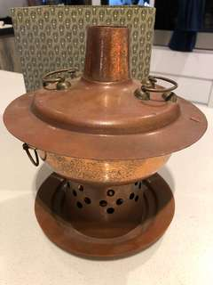 Traditional Copper Charcoal Steamboat Pot