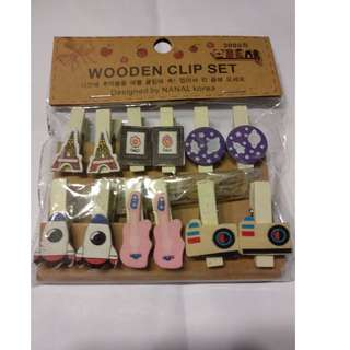 10PCS of Wooden Clip / Wooden Pegs (Free Postage)