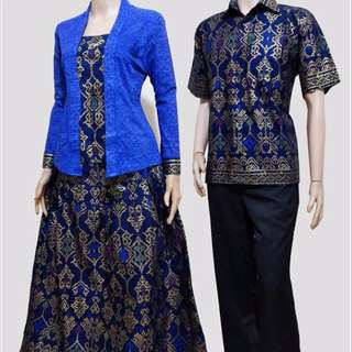 Batik Gamis COUPLE KUTU BARU KODE SRG 358