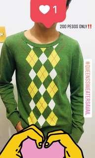 Checkered Sweatshirt