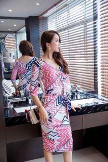 Midi Work Dress
