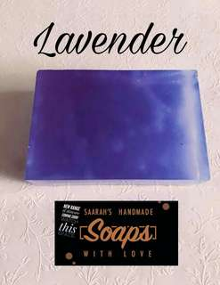 🚚 Handmade Lavender Soap (Free 3 Ebooks With Every Purchase)