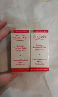 Clarins masque purifiant eclat mask