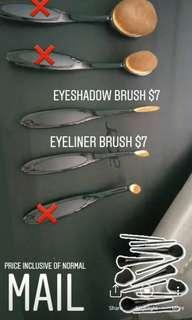 Eyeliner & Eyeshadow Brushes