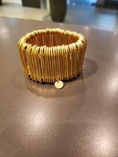 Philippe Audibert gold metal bracelet