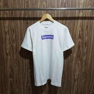 Kaos Supreme Box Ungu Premium
