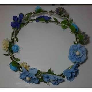 Flower Crown/Flower Crown Murah/Mahkota Bunga/Bando Bunga/Bunga Lilit