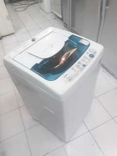 Toshiba 6.5kg fully automatic washing machine. 95%ok Good condition one month warntey 01133530275  call me WhatsApp