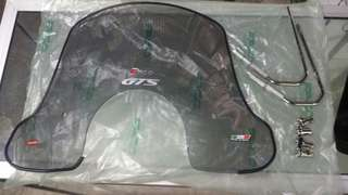 Faco flyscreen for vespa gts