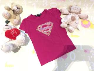 Super Heroes Girls Top 6-7Y/M
