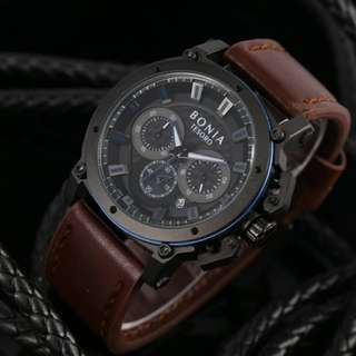 Bonia Chrono Leather