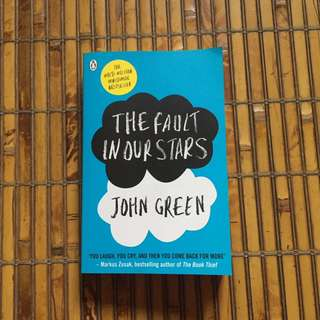 The Fault In Our Stars By John Green Novel