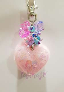 Sanrio Little Twin Stars Furball with hanging beads Resin