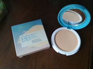 Wardah BB lightening cake powder shade 01