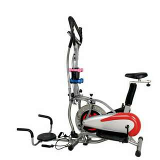 Orbitrack 5in1 Alat Olahraga Fitness Bersepeda Di Rumah Pembakar Kalori