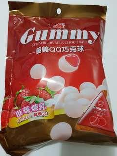 ✈大玩台灣代購✈義美QQ巧克力球5種口味180g