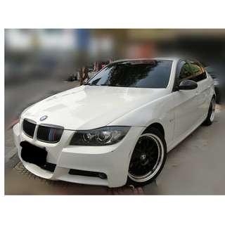 2008年    BMW   335I   4門稀有   白      ✅0頭款 ✅免保人✅低利率✅低月付 FB搜尋:阿源 嚴選二手車/中古車買賣