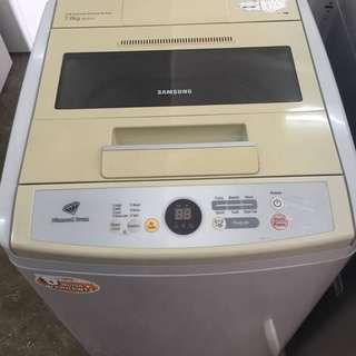 Samsung Auto 7kg Washing Machine Mesin Basuh Recond