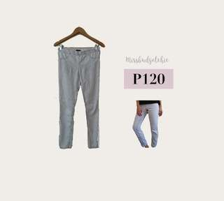H&M Light Gray Skinny Jeans