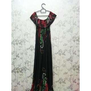Stretchable Black Dress