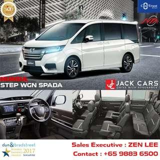Honda Stepwagon Spada 7 Seater