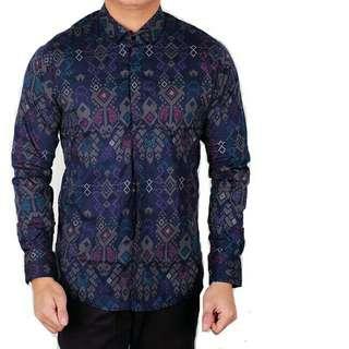 Kemeja Pria Batik Songket