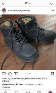 Sepatu zara anak cowo, size 27, kondisi 80 persen, harga beli sekitar 500 ribuan