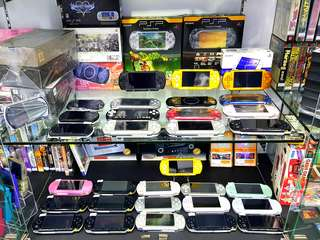 SONY PLAYSTATION PORTABLE  (PSP1000,  PSP2000, PSP3000, PSP GO)