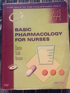 Basic Pharmacology for Nurses by Clayton Stock Harroun (14th Edition)