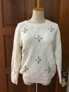 Hand-knit top