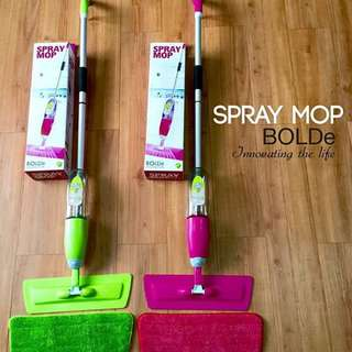 Spray Mop BOLDe Pembersih Lantai Modern Praktis Mudah Di Gunakan