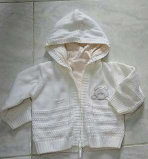 Jaket sweater 3-6 bulan mothers care