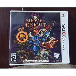 SHOVEL KNIGHT NINTENDO 3DS GAME