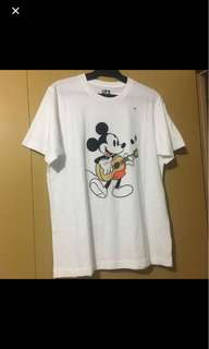 Uniqlo Mickey Mouse Printed Shirt