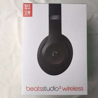 Beats by Dre Studio3 Black Wireless Headphones Listed for charity