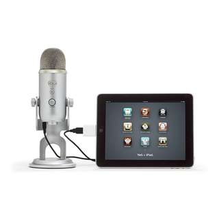 Promotion!Blue Yeti USB Microphone, Silver