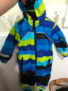 Boys Winter Jacket, skisuit, One-piece winter suit. Suitable for boys 3-5 years old