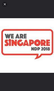 LOOKING FOR NATIONAL DAY 2018 TICKETS