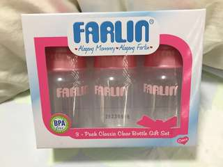FARLIN 0 Months+ 3 Pack Baby Bottle