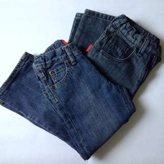 Old navy and bossini jeans