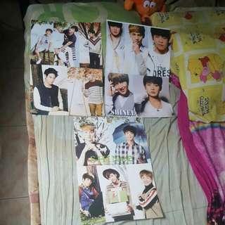 Shinee Posters (6pcs)