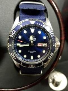 Orient Ray2 藍圈藍面