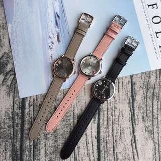 Coach 新款女士手錶 花瓣表盤點綴 顛覆傳統設計 支持對比