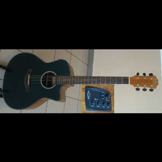 A&K Acoustic Electric Guitar 41Inch Model 440CE