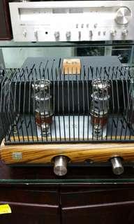 Leo Research LR-132A Integrated amplifier..KT66 Pure Class A