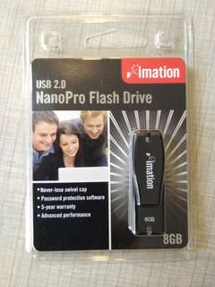 imation 8GB NanoPro Flash Drive USB 2.0