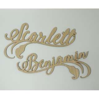 Classic Chair Sign Custom Wedding