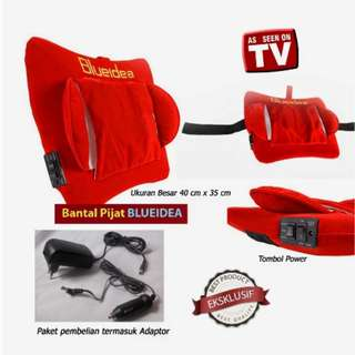 Bantal Pijat Shiatsu Blueidea Alat Pijat With Far Infrared