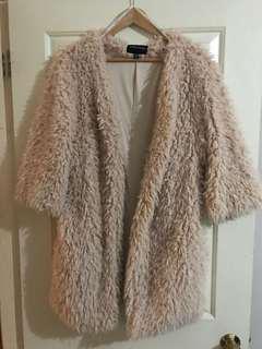 MINKPINK Sherpa Coat - XS/S