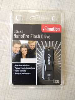 imation 4GB NanoPro Flash Drive USB 2.0